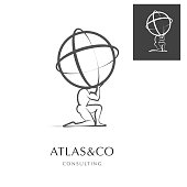 ATLAS , CORPORATE VECOTR ICON