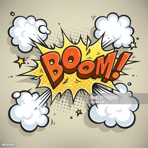 воом! - exploding stock illustrations