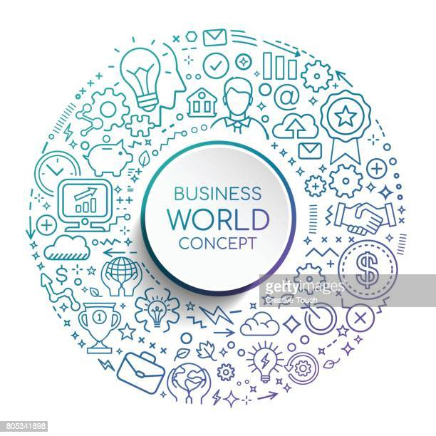 BUSINESS WORLD CONCEPT