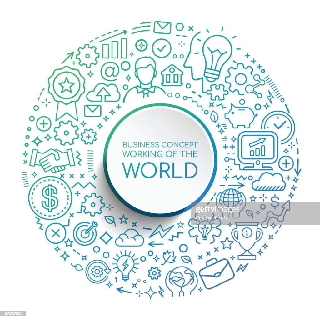 BUSINESS CONCEPT WORK OF WORLD