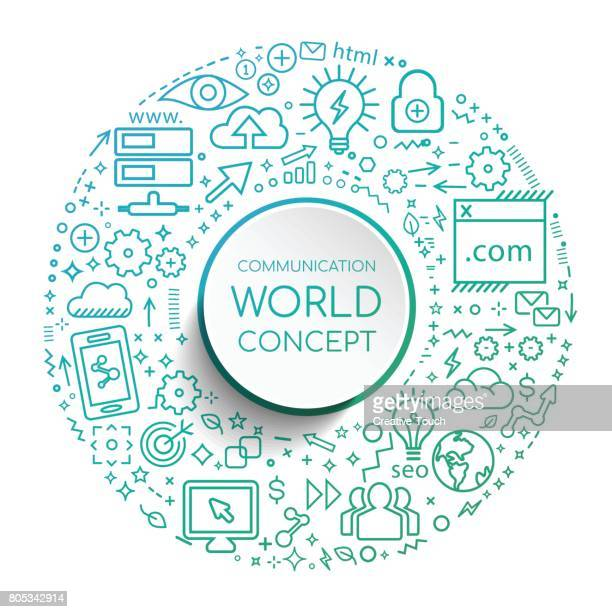 communication world - disabled access stock illustrations, clip art, cartoons, & icons