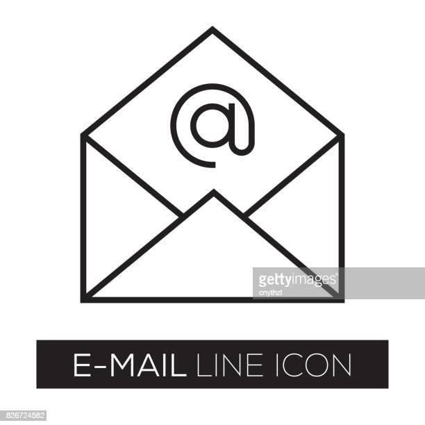 e メールのコンセプト - e mail点のイラスト素材/クリップアート素材/マンガ素材/アイコン素材