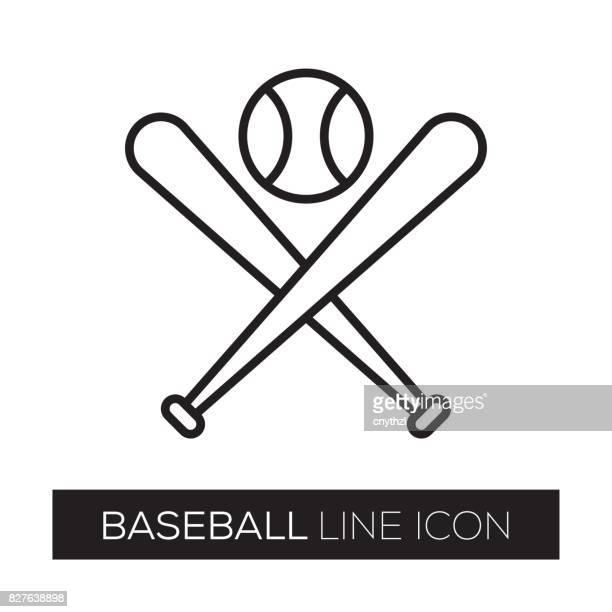 BASEBALL-LINE-SYMBOL