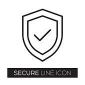 SECURE LINE ICON