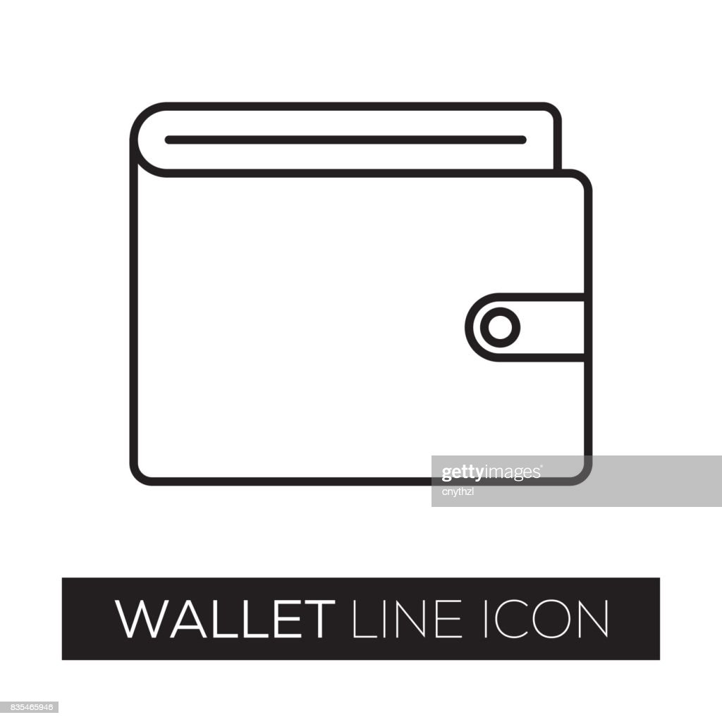 WALLET LINE ICON