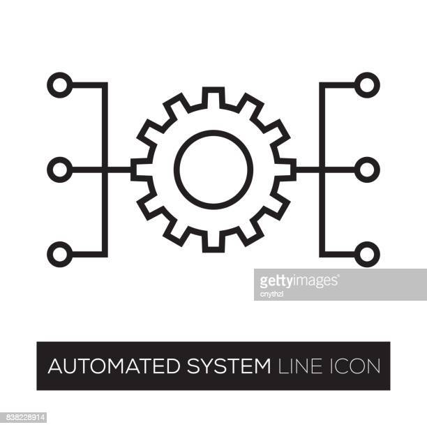 automated system - order stock illustrations