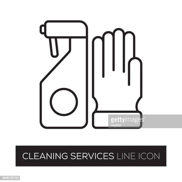 cleaning concept - washing up glove stock illustrations, clip art, cartoons, & icons
