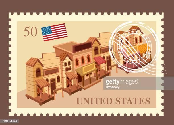 ilustrações, clipart, desenhos animados e ícones de porte postal de estados unidos da américa - usa