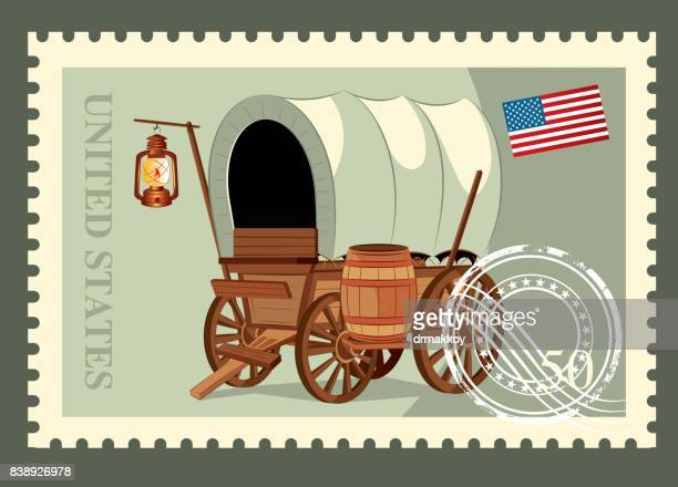 usa postage - post office stock illustrations, clip art, cartoons, & icons