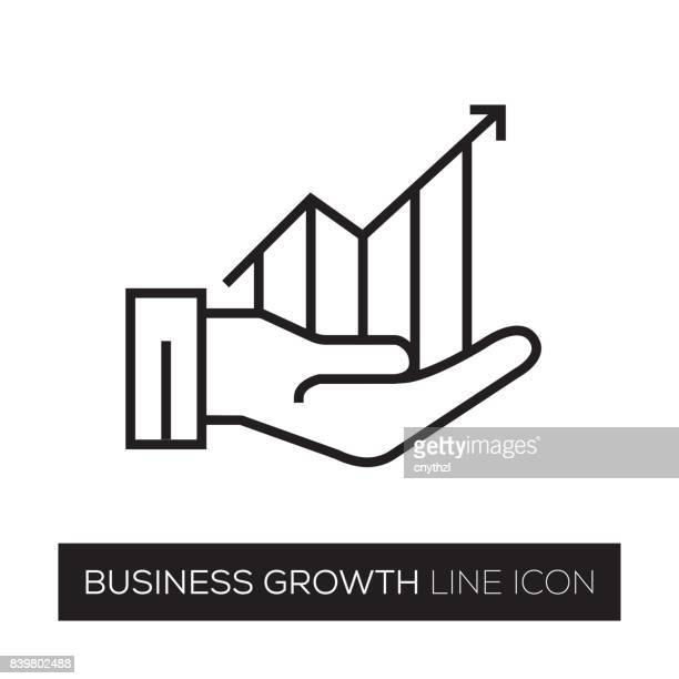 business growth - improvement stock illustrations, clip art, cartoons, & icons