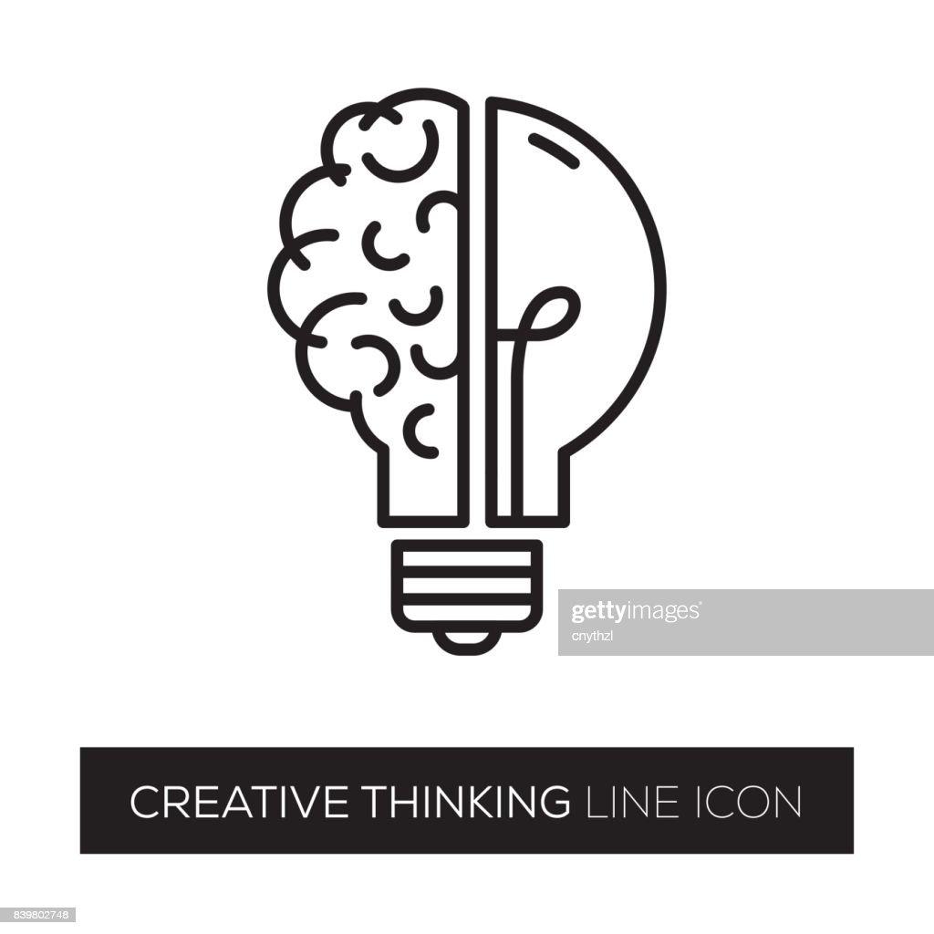 CREATIVE THINKING : Stock Illustration