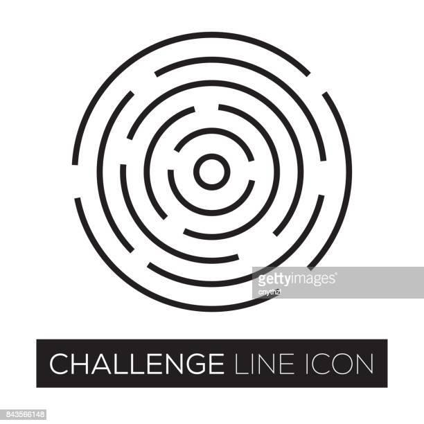 CHALLENGE LINE ICON