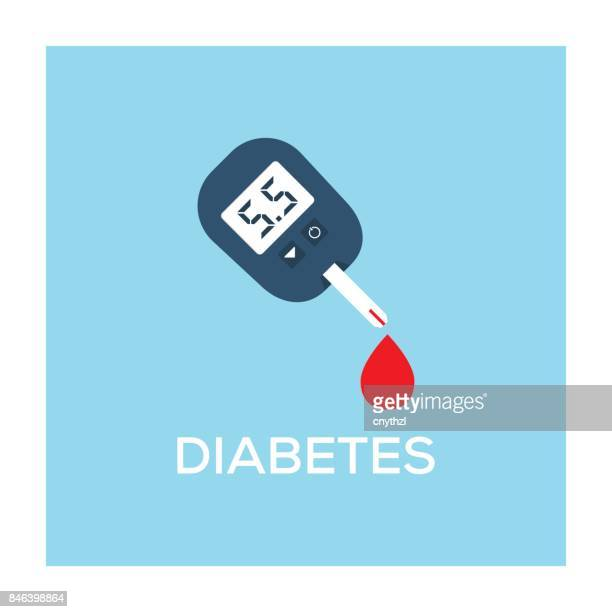diabetes concept - sugar food stock illustrations, clip art, cartoons, & icons