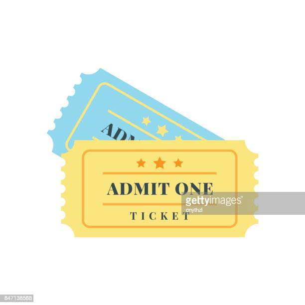 ticket icon - theater industry stock illustrations, clip art, cartoons, & icons