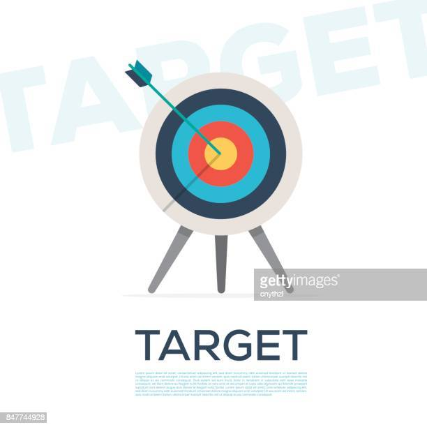 target concept - accuracy stock illustrations