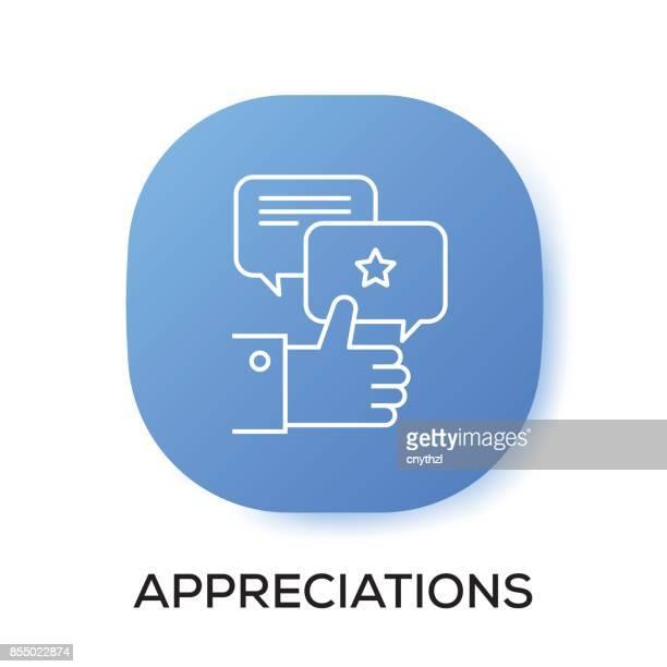 appreciations app icon - celebrities stock illustrations, clip art, cartoons, & icons