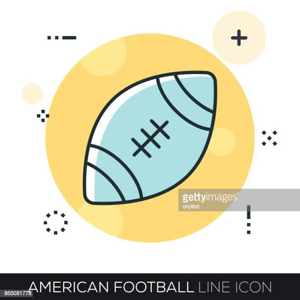AMERICAN FOOTBALL LINIENSYMBOL