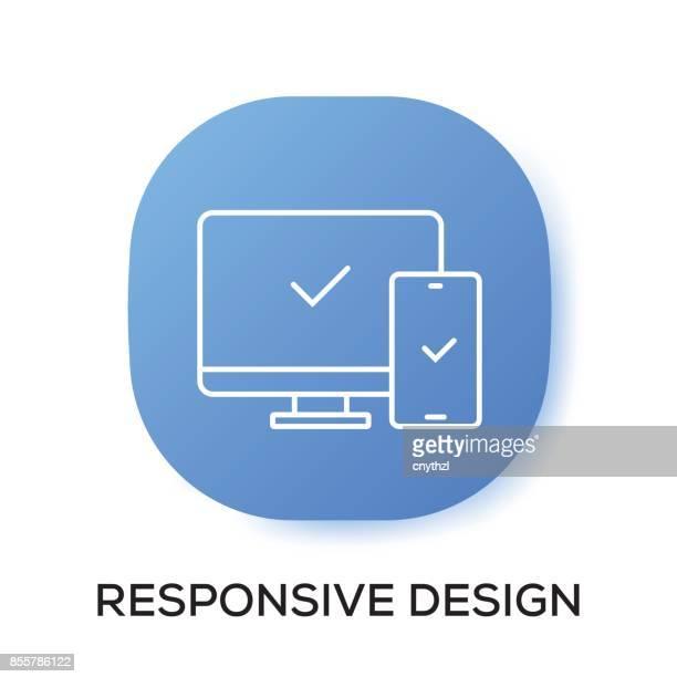 RESPONSIVE DESIGN APP ICON