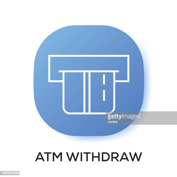 ATM WITHDRAW APP ICON