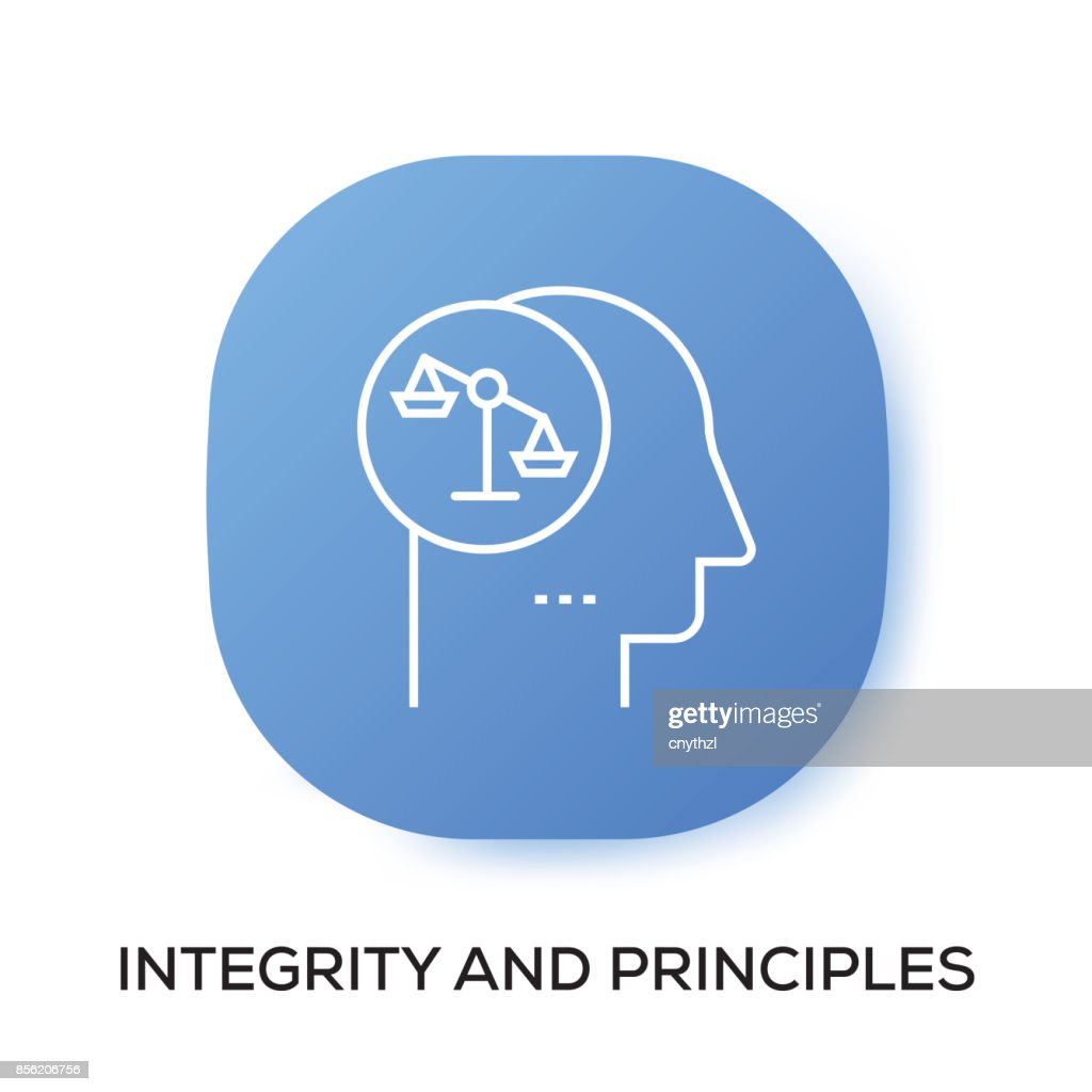 INTEGRITY AND PRINCIPLES APP ICON