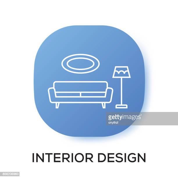 INTERIEUR DESIGN APP PICTOGRAM