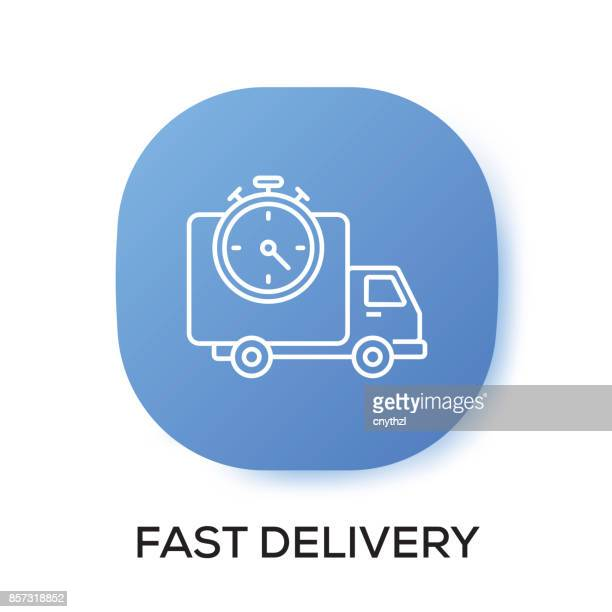 FAST DELIVERY APP ICON