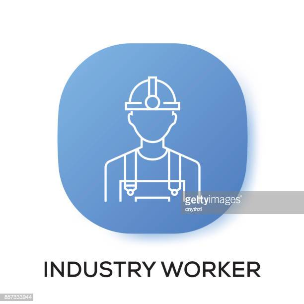 INDUSTRY WORKER APP ICON