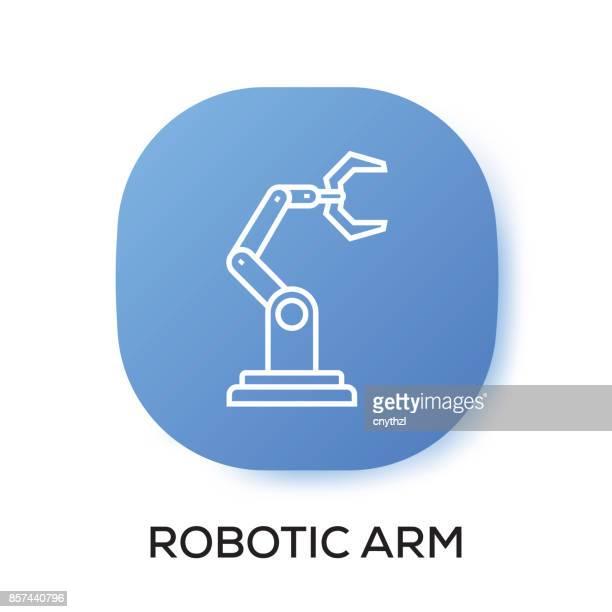 ROBOTIC ARM APP ICON