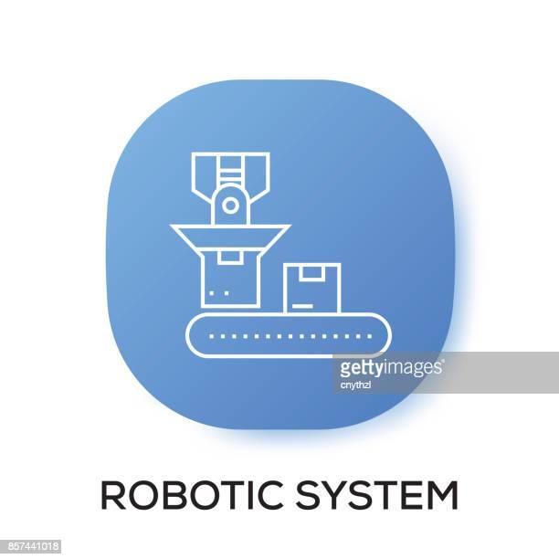 ROBOTIC SYSTEM APP ICON