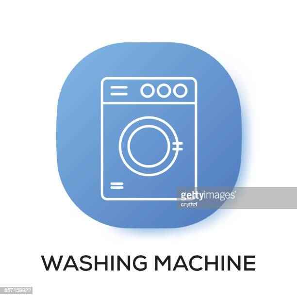WASHING MACHINE APP ICON