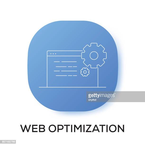 WEB OPTIMIZATION APP ICON