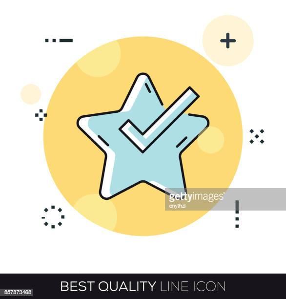 BEST QUALITY LINE ICON