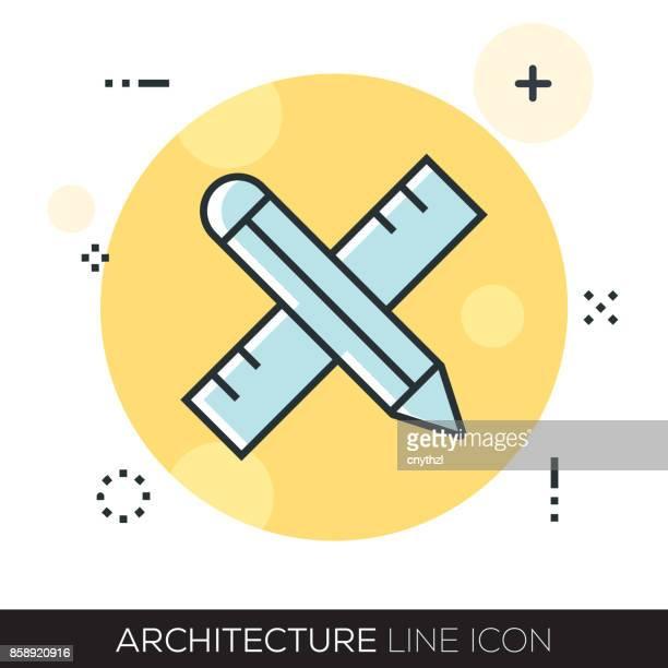 ARHCITECTURE LINE ICON