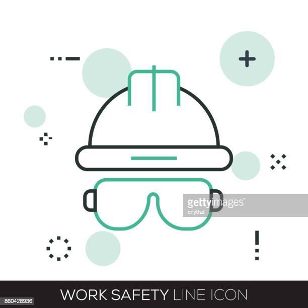 作業安全線アイコン
