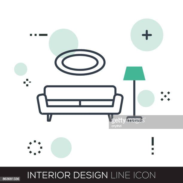 INTERIEUR LIJN PICTOGRAM