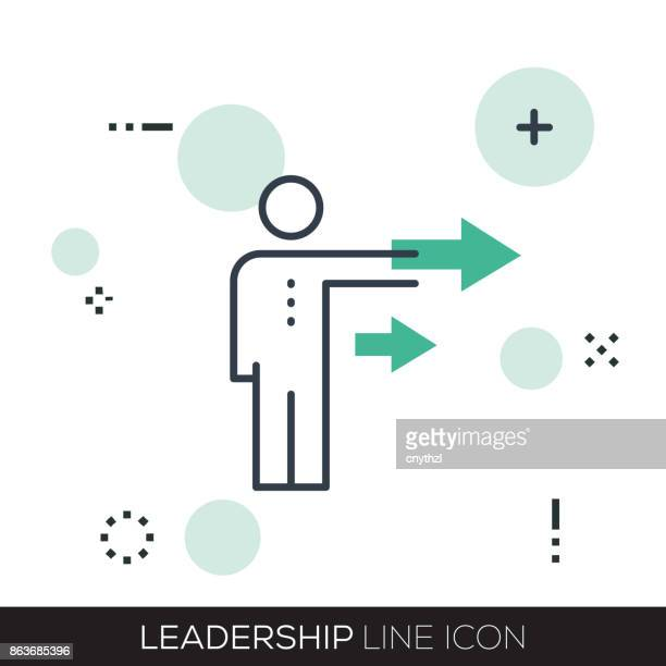 LEADERSHIP LINE ICON