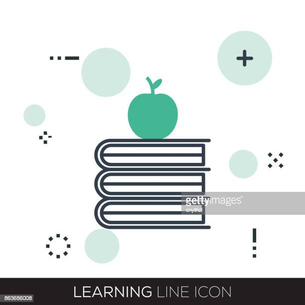 LEARNING LINE ICON