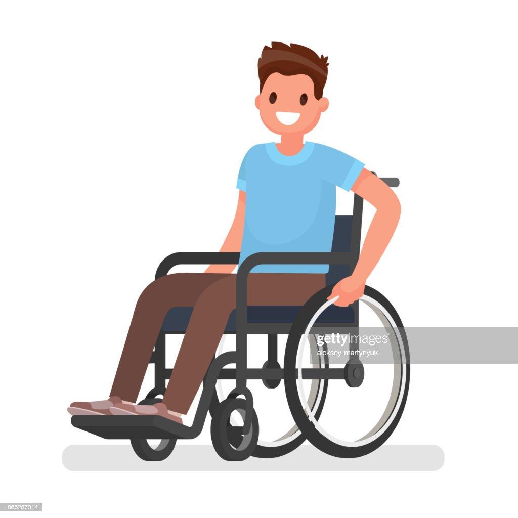 больной на инвалидной каляске