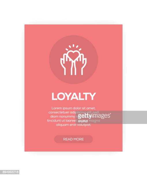 loyalty concept - respect stock illustrations