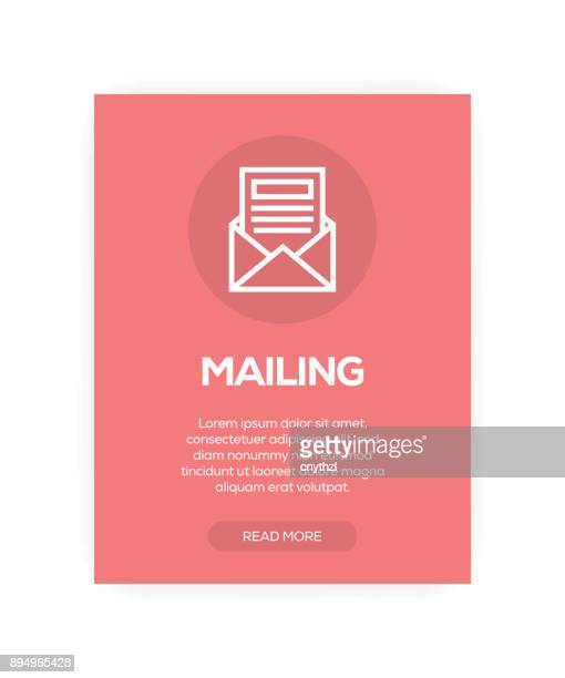 mailing concept - post office stock illustrations, clip art, cartoons, & icons