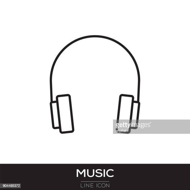 MUSIC LINE ICON