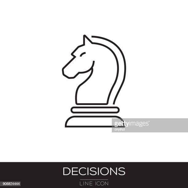 DECISIONS LINE ICON