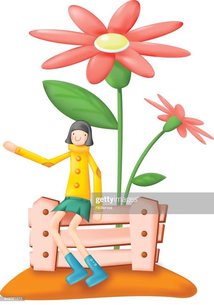 FLOWER GIRL CONCEPT