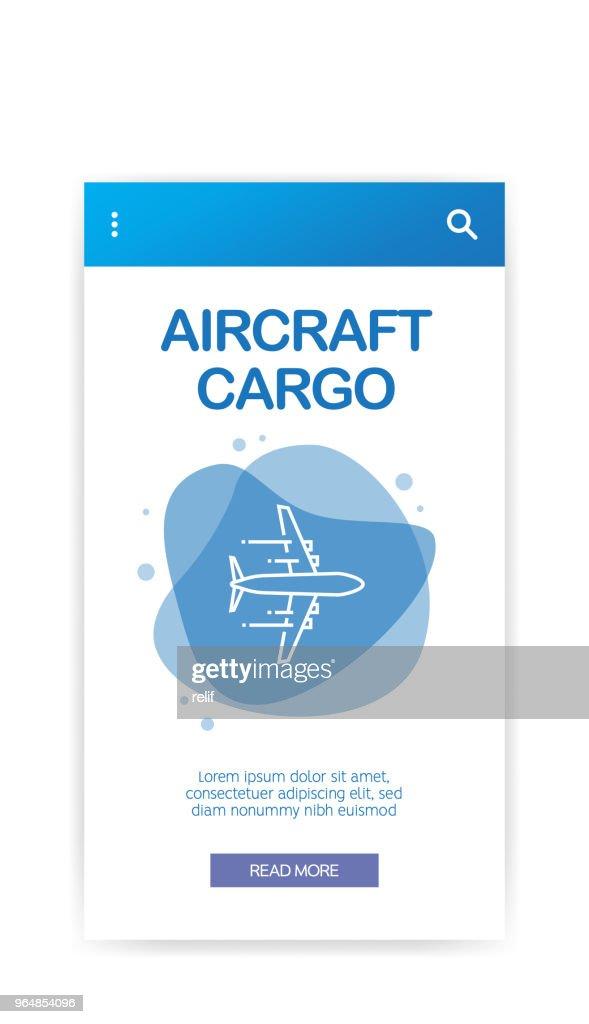 AIRCRAFT CARGO INFOGRAPHIC