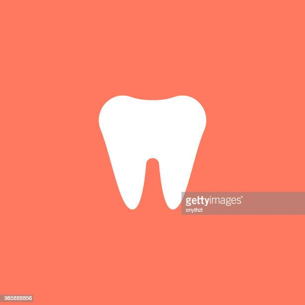 dental care flat icon - dental floss stock illustrations