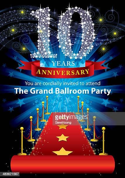 10 周年記念パーティー