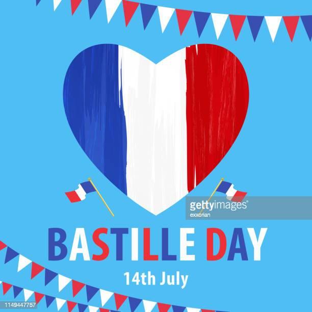 illustrations, cliparts, dessins animés et icônes de 14 juillet bastille day - culture française