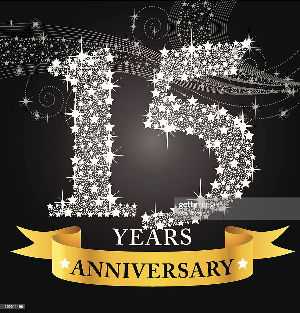 15th anniversary vector art getty images 15th anniversary biocorpaavc Choice Image