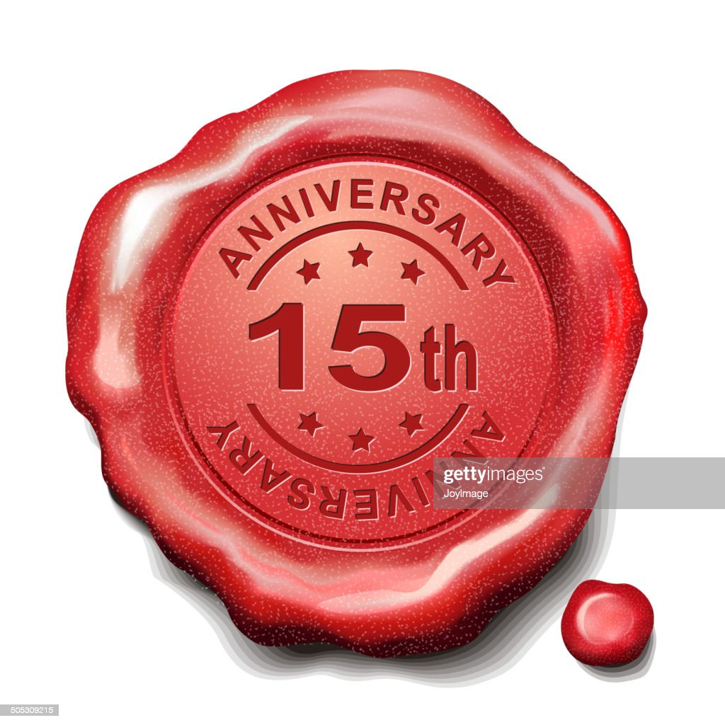15th red wax seal