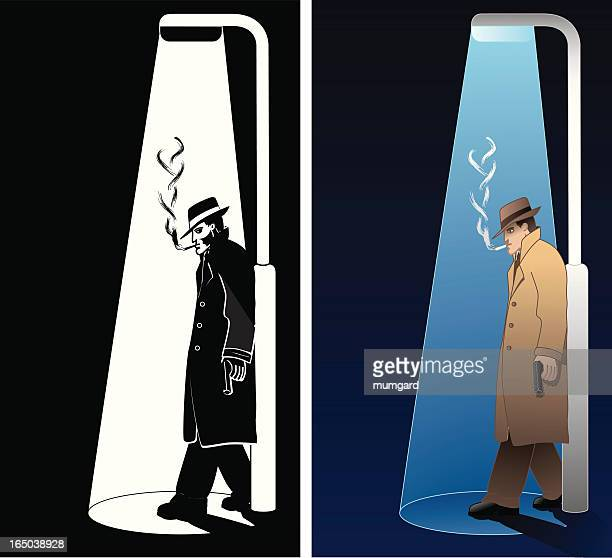 World's Best Trench Coat Stock Illustrations - Getty Images